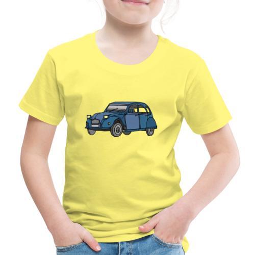 Blaue Ente 2CV - Kinder Premium T-Shirt