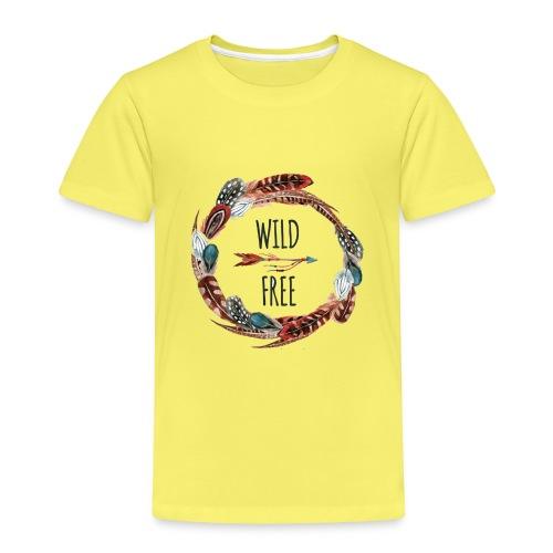 WILD & FREE - Kinder Premium T-Shirt