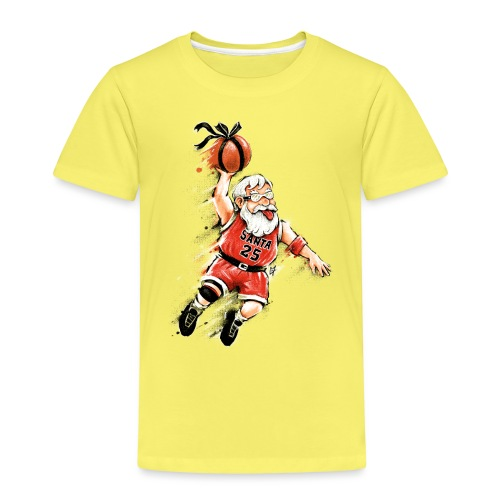 Santa Dunk - Kids' Premium T-Shirt
