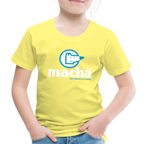 macha - Kinder Premium T-Shirt