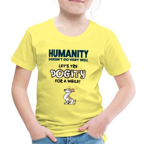 Dogity - Kinderen Premium T-shirt