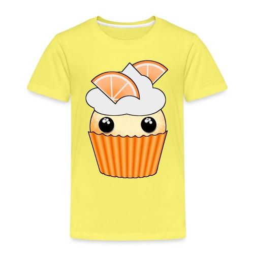 muffins apelsin orange med klyftor - Kids' Premium T-Shirt