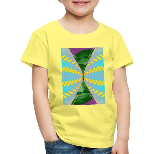 Tornado, Abstract art, Abstract Expressionism - Kinder Premium T-Shirt