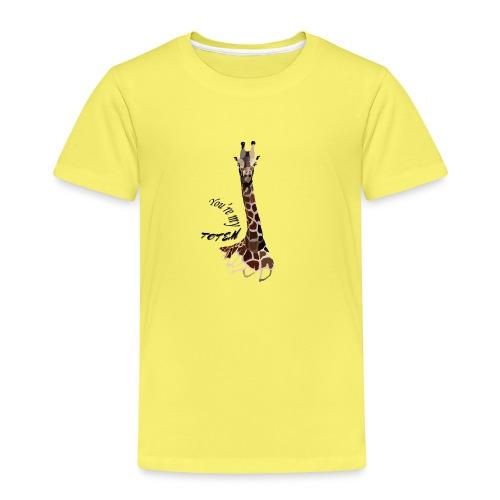 girafe, you're my Totem - T-shirt Premium Enfant