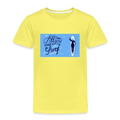 summer surfing - T-shirt Premium Enfant