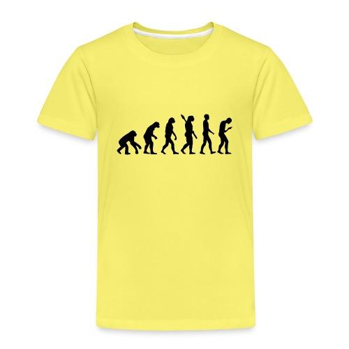 Development of the smartphone zombie / smombie - Kids' Premium T-Shirt
