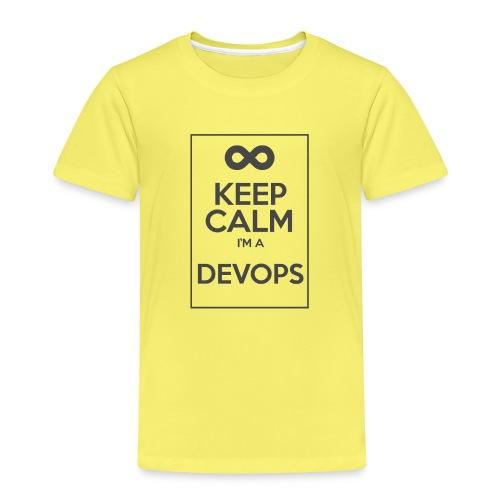 Keep Calm I'm a devops - Kids' Premium T-Shirt