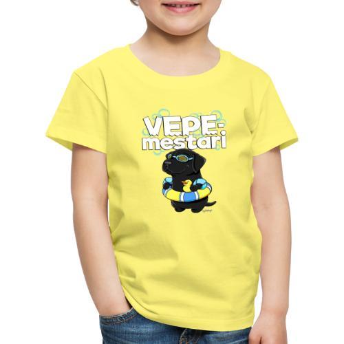 vepemestari2 - Lasten premium t-paita