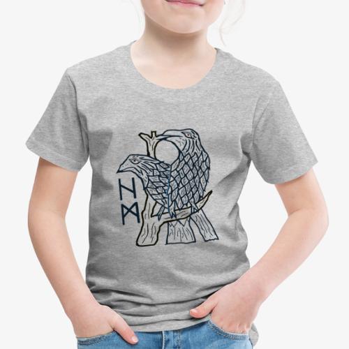 Hugin und Munin - die beiden Raben - Kinder Premium T-Shirt