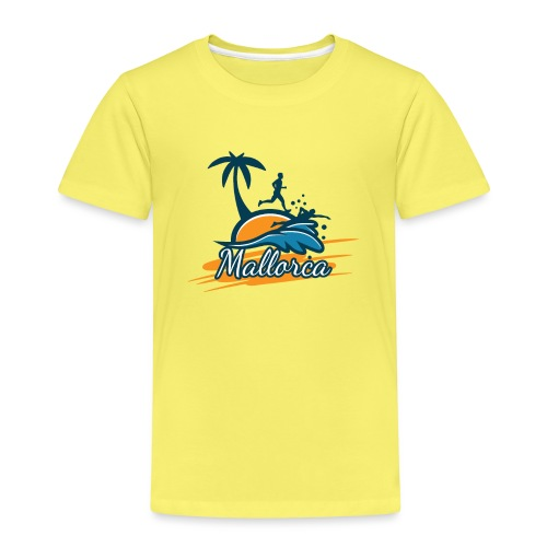 Joggen auf Mallorca - Sport - sportlich - Jogging - Kinder Premium T-Shirt