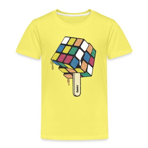 Rubik's Cube Ice Lolly - Kids' Premium T-Shirt
