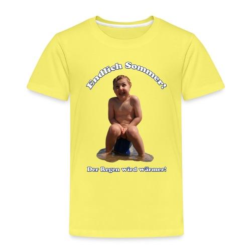 EndlichSommer png - Kinder Premium T-Shirt