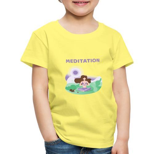 Yoga Meditation - Maglietta Premium per bambini