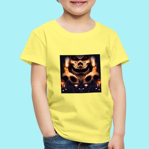 Tête de mort à la chandelle - T-shirt Premium Enfant