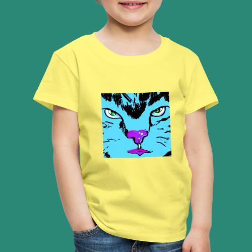 Der blaue Kater - Kinder Premium T-Shirt