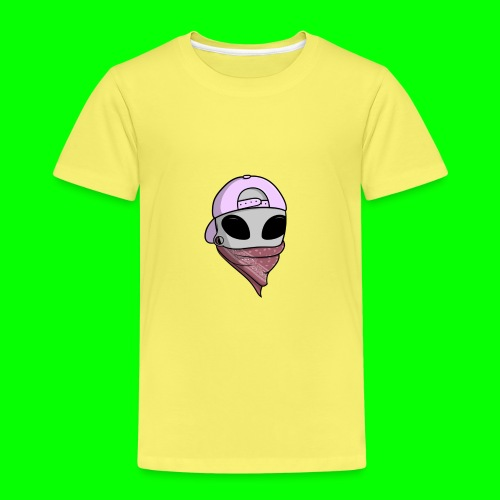 gangsta alien logo - Maglietta Premium per bambini