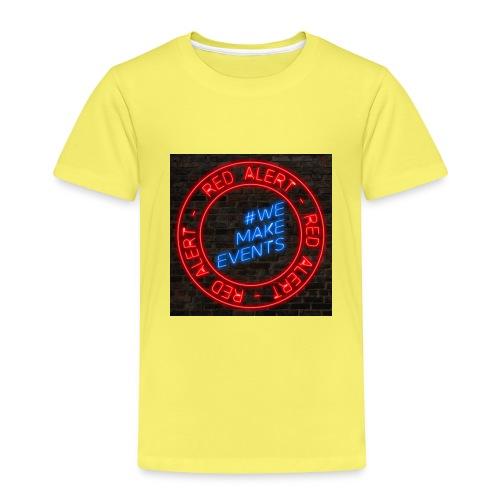 Red Alert Neon Bricks 02 - Kids' Premium T-Shirt