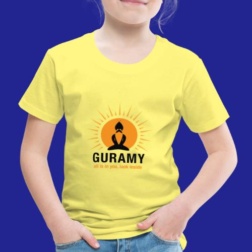 final nero con scritta - Kids' Premium T-Shirt