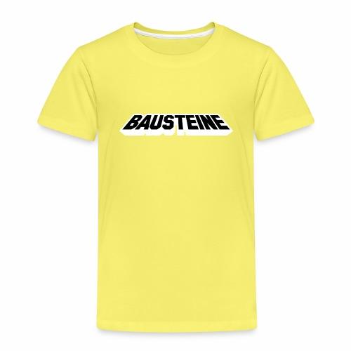 Bausteine sind zum spielen für Kinder und Eltern - Kinder Premium T-Shirt