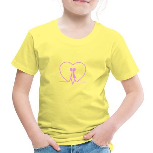 Amarsi un pò ... PINK - Maglietta Premium per bambini