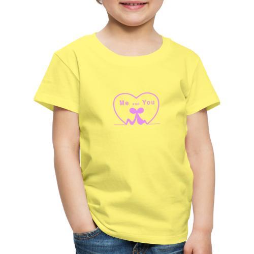 Io e te...PINK - Maglietta Premium per bambini