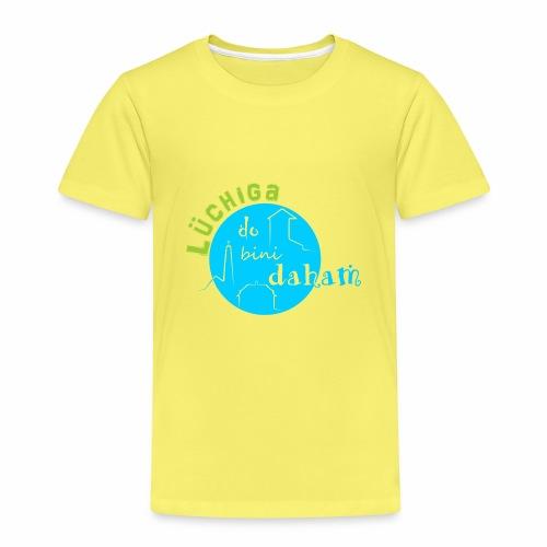 KreisTuerkisgruen - Kinder Premium T-Shirt