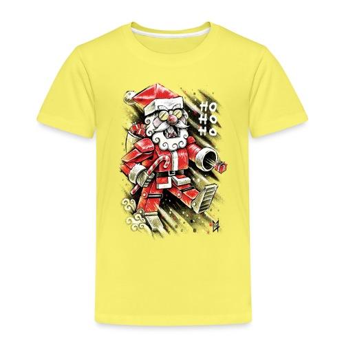 Robot Santa Claus - Kids' Premium T-Shirt