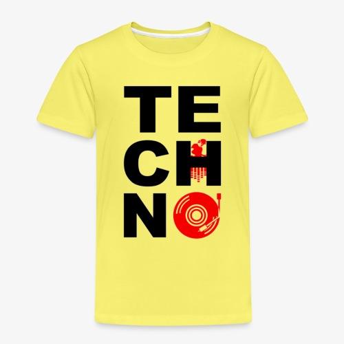 TECHNO VINILO - Camiseta premium niño