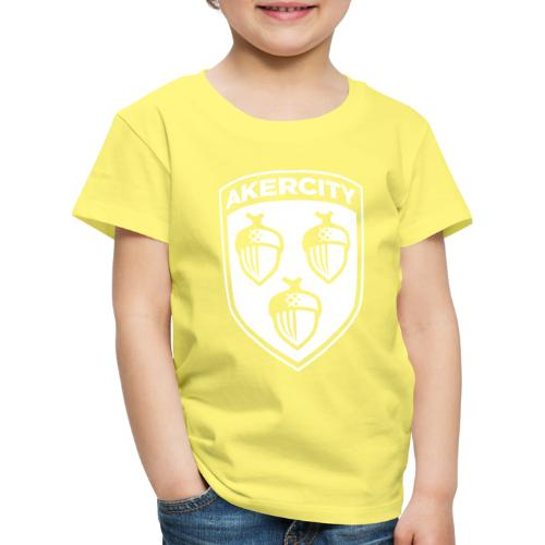 Akercity Schild 1 Kleur B - Kinderen Premium T-shirt