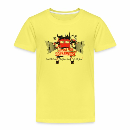 Greetings from CPH ver01 - Børne premium T-shirt