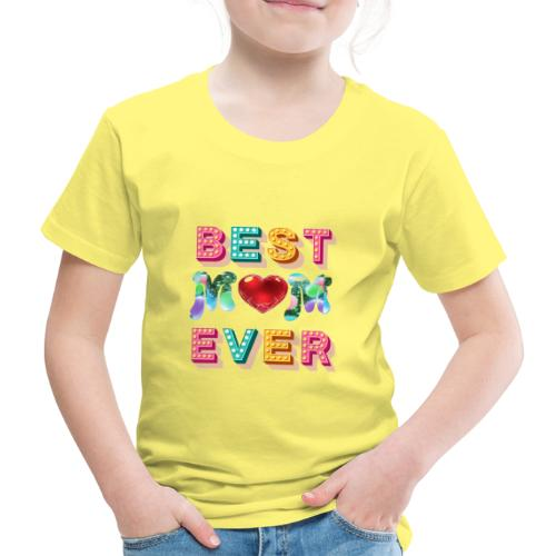 best mom ever5 - Premium-T-shirt barn