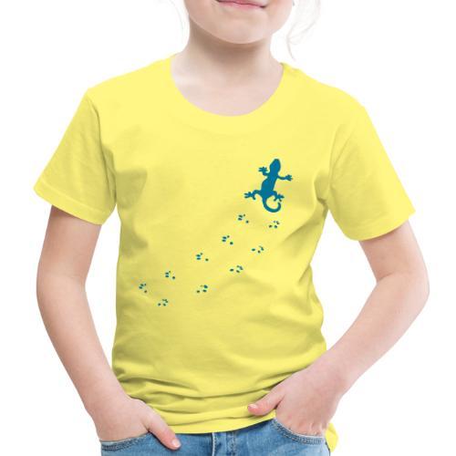 Messy Lizard Paws - Kids' Premium T-Shirt