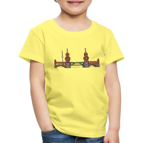 Oberbaumbrücke BERLIN - Kinder Premium T-Shirt