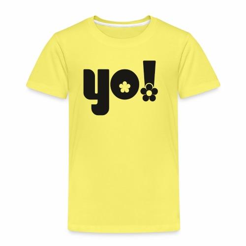 Yo power - Børne premium T-shirt