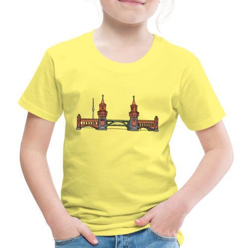 Oberbaumbrücke a BERLINO c - Maglietta Premium per bambini