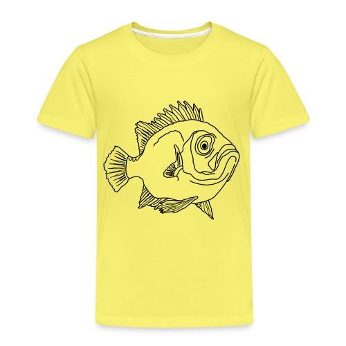 Fisch Barsch Ozean Meer Wasser Aquarium Angeln - Kinder Premium T-Shirt
