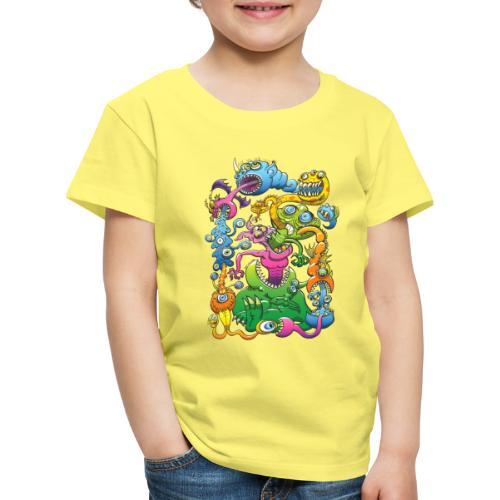 Monstrously Messy - Kids' Premium T-Shirt