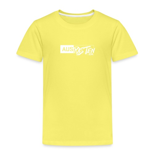 deEVA Ausrasten White Kollektion - Kinder Premium T-Shirt