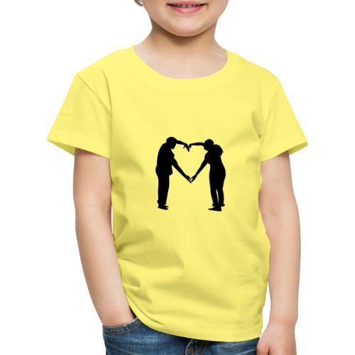 silhouette 3612778 1280 - Premium-T-shirt barn