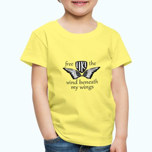 Free like the wind beneath my wings - Kids' Premium T-Shirt