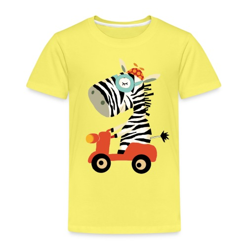 zebra png - Kinder Premium T-Shirt