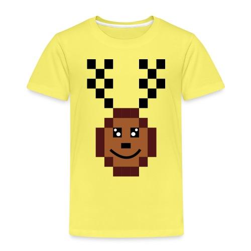Renna8Bit - Maglietta Premium per bambini