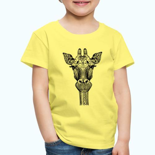 Mandala giraffe - Kids' Premium T-Shirt