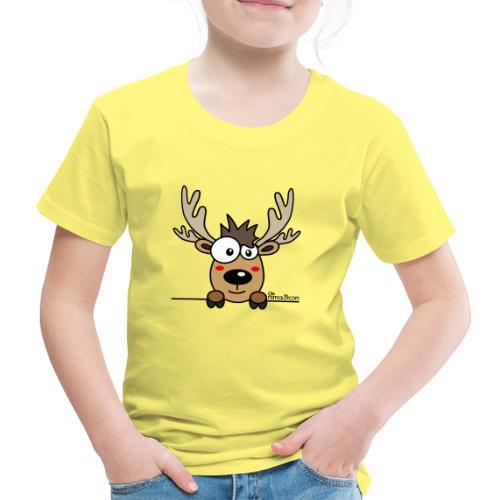 Baby Caribou Renne Noël (by nimalo.com) - T-shirt Premium Enfant