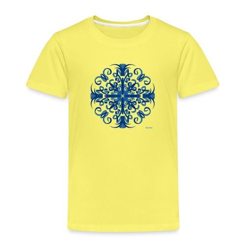 Classic Blue Modo Mandala - Camiseta premium niño