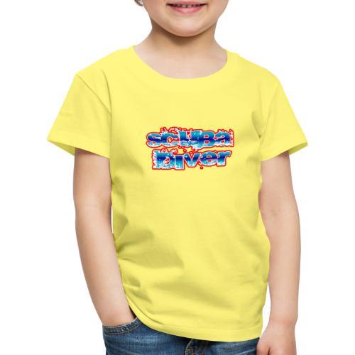 Scuba diver bubble - Camiseta premium niño