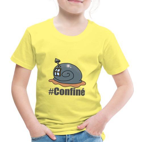 confiné - T-shirt Premium Enfant