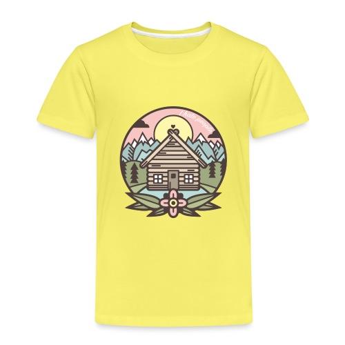 i hate people casa in montagna - Maglietta Premium per bambini