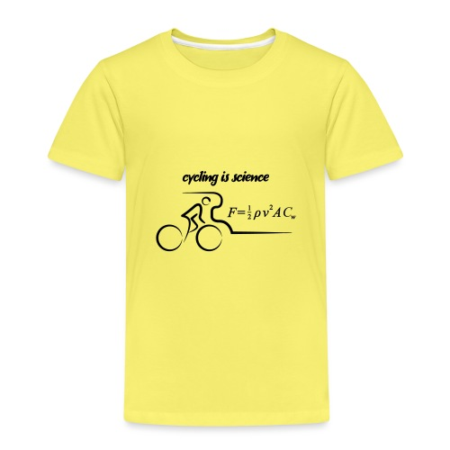 cycling science - Kinderen Premium T-shirt