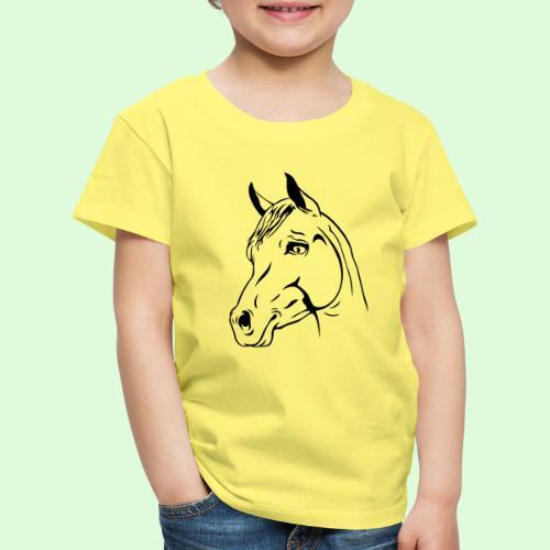 tête de cheval - T-shirt Premium Enfant